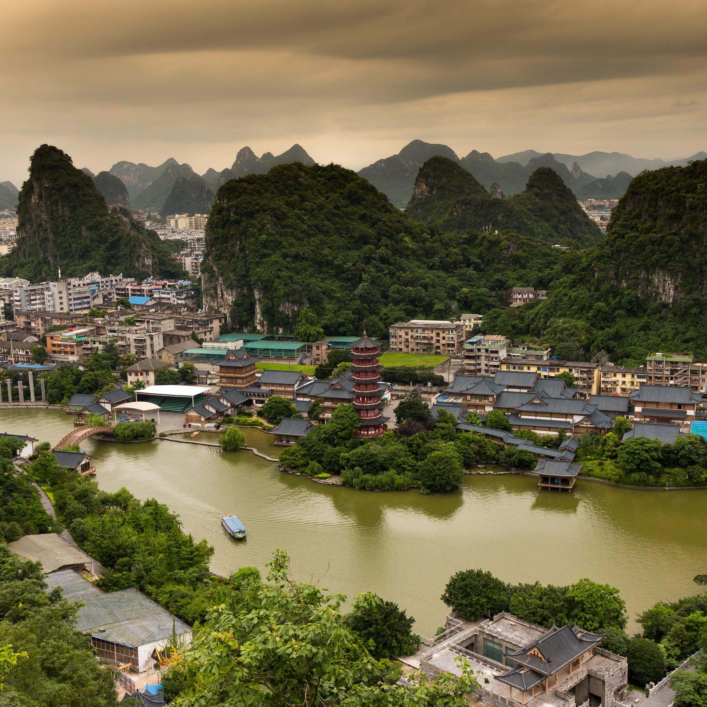 Alain – régions du Guangxi et de Shanghai (8 jours)