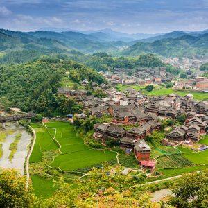 Région de Sanjiang et de Chengyang - 三江程陽寨