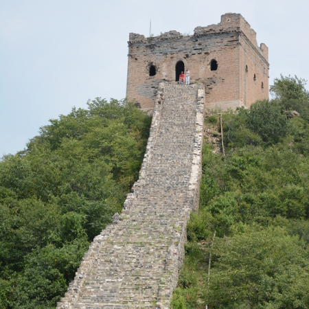trekking sur la muraille de chine randonn233e et trek