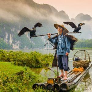 Croisière sur la rivière Li - 漓江漂流