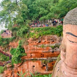 Bouddha géant de Leshan - 乐山大佛