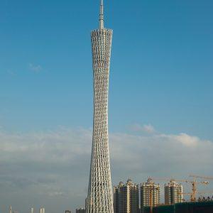 La Tour de Canton 广州塔