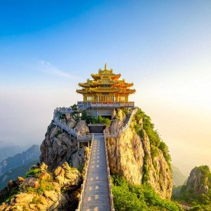 Mont Laojun (Laojunshan) 老君山