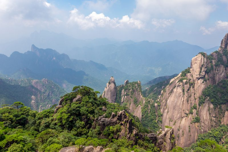 Mont Sanqing - Chine