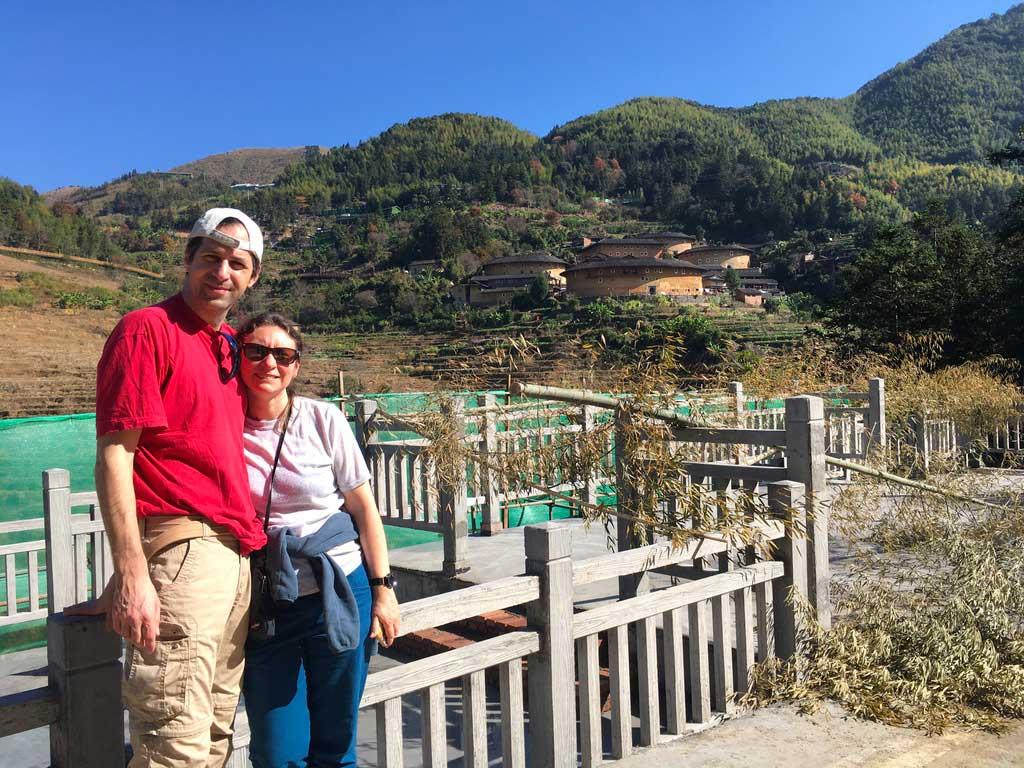 Marie-France – Paysages du Wuyishan et maisons Hakka du Fujian
